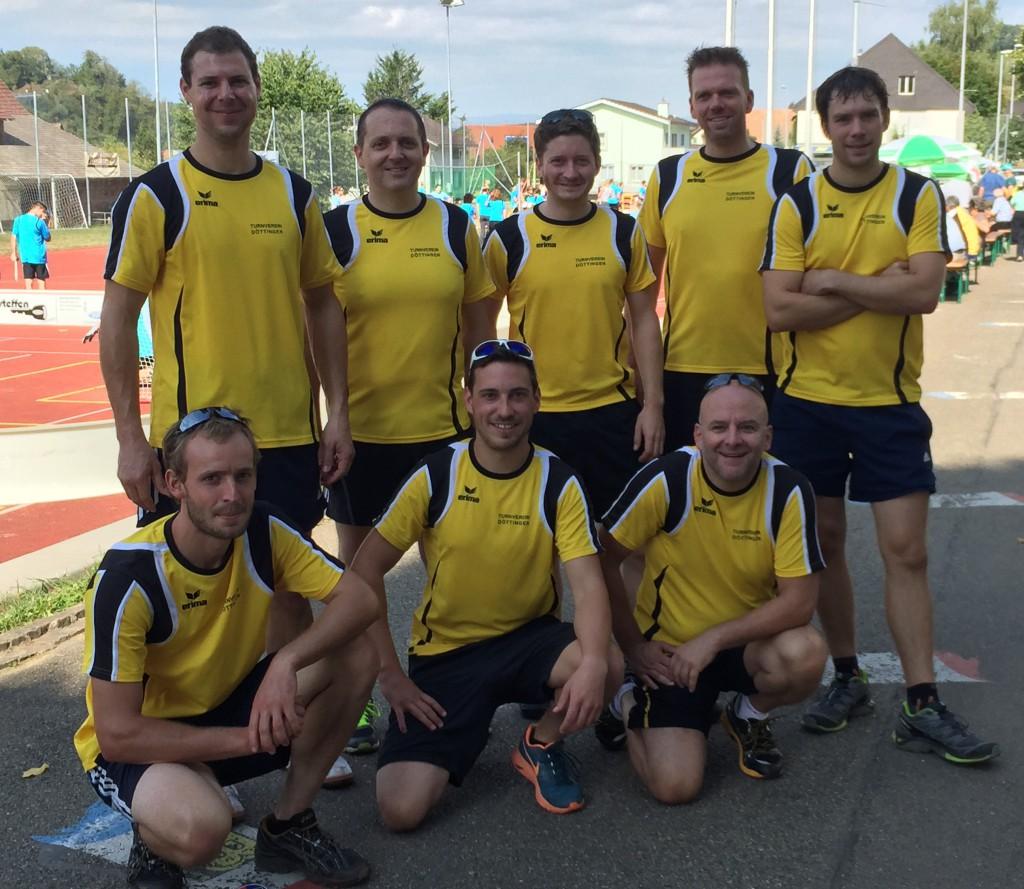 Turnverein Döttignen - Kreisspieltag 2015 - Gruppenbild