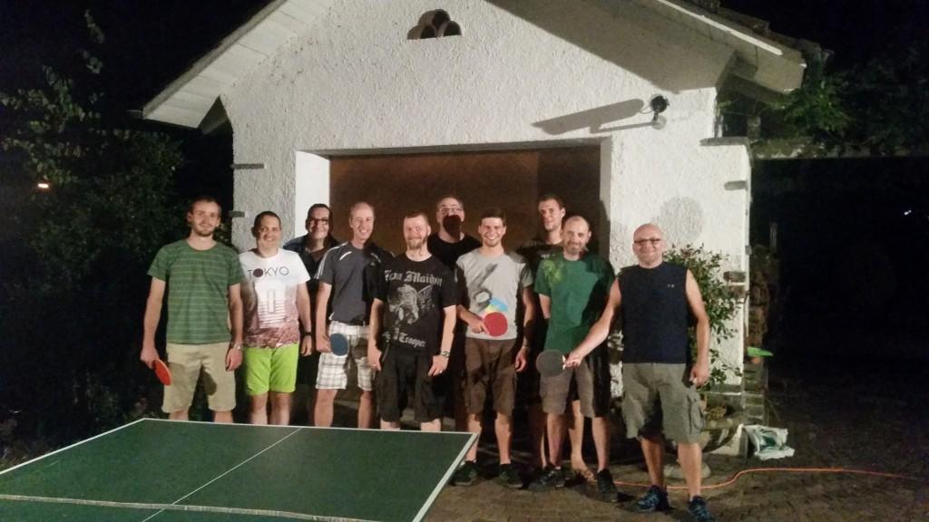 TV Döttingen 2015 - Sommerprogramm - Tischtennis